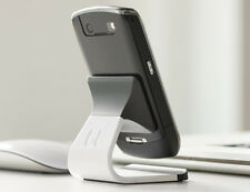BlueLounge MILO Phone Stand / Holder for Apple iPhone / Samsung Galaxy etc WHITE
