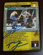 Tommy Dreamer Steven Richards Signed 2005 Raw Deal WWE Card Auto'd ECW Autograph