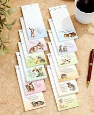 Set Of 12 Kittens Seasonal List Pads Magnetic Messages Notes Reminders Grocery