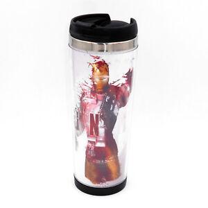 Avengers Iron Man Mug Creative Travel Coffee Water Tea Cup for Cars Adults 400ML