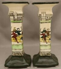 Royal Doulton Seriesware - **********Pair Candlestick Holders - D2873.**********