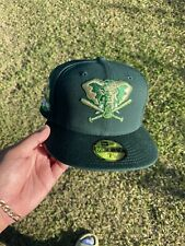 Exclusive Fitteds New Era Oakland Athletics Side Patch Not Hat Club Size 7 1/2