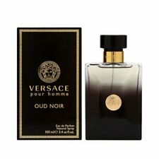 Versace Pour Homme Oud Noir For Men Eau de Parfum 3.4 oz ~ 100 ml Spray