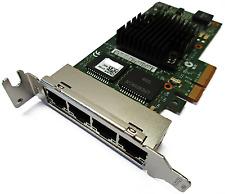 Intel i350-T4 1Gb/s Quad Port low profile Network Card Dell 9YD6K