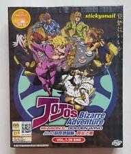 Anime DVD JOJO's Bizarre Adventure Season 5 Vol. 1-39 End ENG SUB All Region
