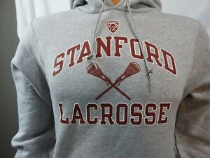 Champion Standford Cardinals Lacrosse Gray Hoodie Sz XS