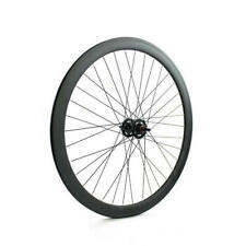 Front Wheel Fixed Gear Pista Profile 43mm Matte Black FIX43BKANT Ridewill B