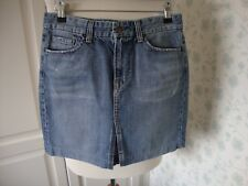 LADIES WOMENS CITIZENS OF HUMANITY DENIM SKIRT BLUE SIZE 29 FESTIVAL SUMMER