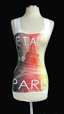 JE T'AIME  LOVELY SEQUINCE PRINTED TANK  TOP