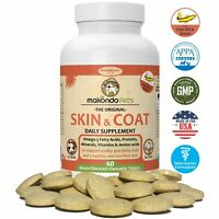 Skin and Coat Supplement for Dogs n´ Cats (Fish Oil + Vitamins + More) 60 Tabs