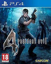 RESIDENT EVIL 4  HD PS4 NUEVO ESPAÑOL PRECINTADO CASTELLANO IMPORTADO