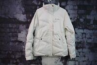 Womens Columbia White Jacket size M No.F61 22/11