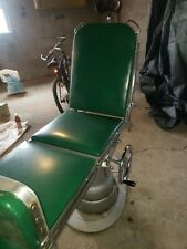 Vintage Adjustable Operating Table Medical Exam Or Tattoo Chair