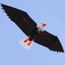 3D Lifelike Huge Flying Eagle Bird Kite Single Line Outdoor Sport Kids Toy