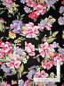 Large Floral Flowers Purple Pink Cotton Fabric Timeless Treasures C6476 By Yard