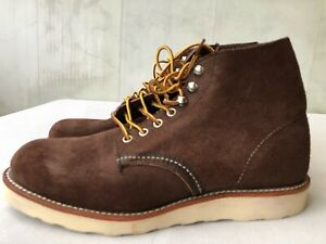 "Red Wing Heritage 6"" Round Toe Boot 8164 Java Muleskinner Mens US8.5 D"