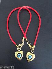 Red String Kabbalah Bracelet Charm Evil Eye Bracelet Good Luck Kabala