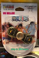One Piece Anime Fidget Spinner EDC Metal Bearing Toy