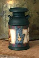 Dollhouse Artisan Miniature Winter Milk Can!IGMA Robin Betterley