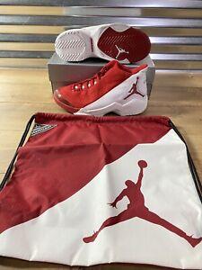 Nike Air Jordan Jumpman Camp23 Shoes Varsity Red White SZ 10 ( 136041-611 )