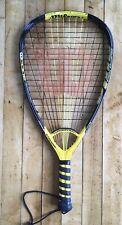 Wilson Racquetball Racquet Ncode Cujo Yellow & Black Xs 3 7/8