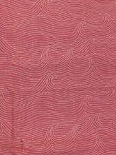 Pink Ocean Waves , Ana Davis True Blue , Girls Nautical Theme Fabric