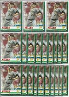 2019 Topps Holiday Walmart Mitch Keller (22) Card Rookie Lot #HW146 Pirates RC