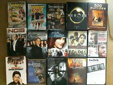 DVDs, TV SERIES, MOVIES, various - your choice BOXED SHIPS FREE