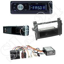 Caliber RMD021 Radio + Mercedes A/B Kl. Vito/Viano Blende black + ISO Adapter
