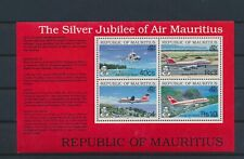 LN71656 Mauritius aviation aircraft airplanes good sheet MNH