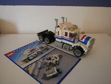 Lego Model Team 5580 LKW Highway Truck 1986 mit vollständiger Anleitung
