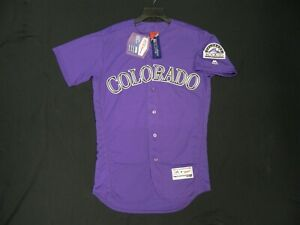 Nolan Arenado Colorado Rockies Purple Kids 4-7 Cool Base Alternate Replica Player Jersey