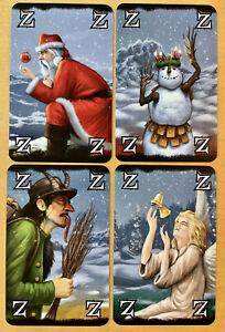Wizard Kartenspiel Promokarten Weihnachtszauberer / Cristmas Wizards (Amigo)