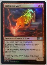 1x FOIL Lightning Mare Near Mint Magic modern legacy horse Core Set 2019 M19 x1
