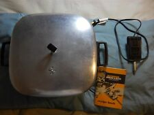 Vintage Westinghouse Immerse-A-Matic fry pan from 1950s