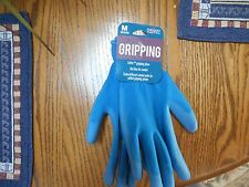 MIDWEST Gloves & Gear Women  Sz M GRIPPING GLOVES Knit Liner Coated Palms NWT