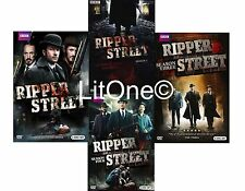 Ripper Street: British Complete TV Series Seasons 1 2 3 4 Box / DVD Set(s) NEW!