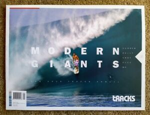 """MODERN GIANTS"" TRACKS MAGAZINE ANNUAL 2013 - Curren, Slater, Irons, Occy, MR"