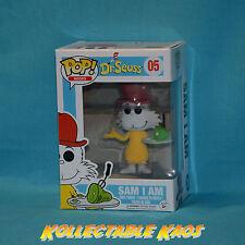 Dr Seuss - Sam I Am Flocked Pop! Vinyl Figure (RS)