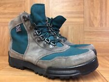 VNTG🇺🇸 Danner Two Tone Cross Hiker 1990 Hiking Boots Vintage Sz 10 Made In USA