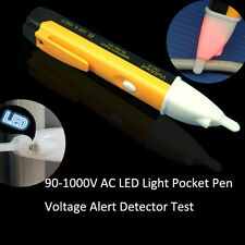 AC 90-1000V Non-Contact LED Electric Alert Voltage Detector Sensor Tester Pen