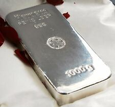1 Kg HERAEUS Silver Bullion Bar 999 1000g - Investment Grade - London Delivery