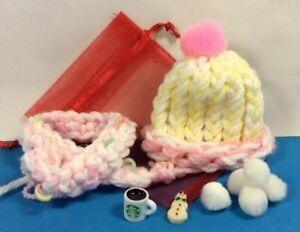 Boxy Doll Accessories Mini Christmas Clothes Hat Scarf Cookie Mug Random Set