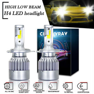 For Nissan UD 1800 2000 2300 2600 3300 2X H4 LED Headlight Bulb Conversion Kit