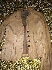 Italian Leather jacket for women size 44, U.S. size around 6