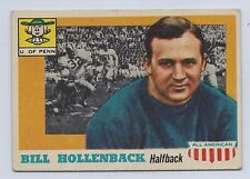 1955 TOPPS ALL AMERICAN # 96 BILL HOLLENBACK NICE CARD