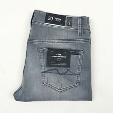 7 For All Mankind - Ronnie Light Grey Skinny Jeans - W33 L32 - RRP £195
