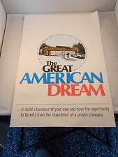 VINTAGE THE GREAT AMERICAN DREAM BOOKLET - BUILD A BUSINESS OF YOUR OWN