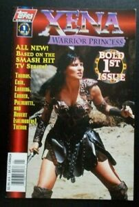 """Xena Warrior Princess comic Issue #1 """"Bold"""" photo cover, Topps August 1997"""