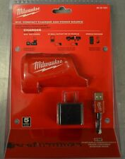 Milwaukee 48-59-1201  M12 Compact Charger & Power Source   NEW AND SEALED